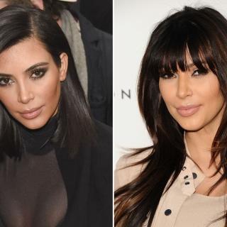 Как причёска меняет внешность: звёзды с чёлкой и без
