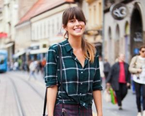 Тренд 2018: с чем носить клетчатые рубашки?