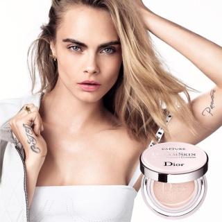 Кара Делевинь снялась в рекламе Dior