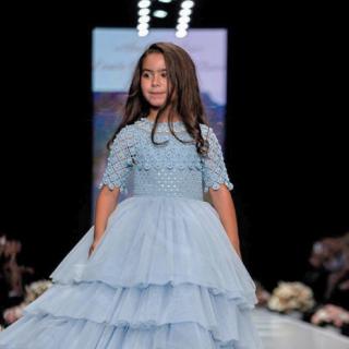 Звёздные дети приняли участие в модном показе