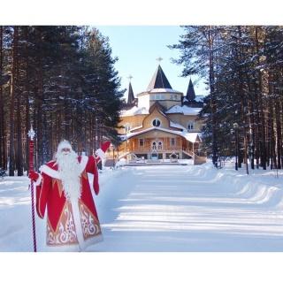 Великий Устюг признан самым популярным малым городом России для отдыха на Новый год