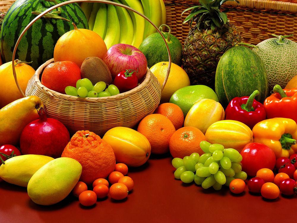 Как правильно сочетать фрукты и овощи?
