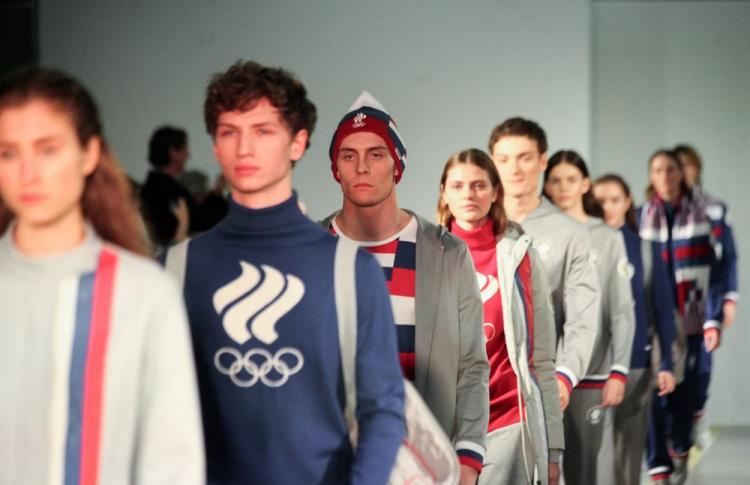 Презентована новая форма для олимпийской сборной России