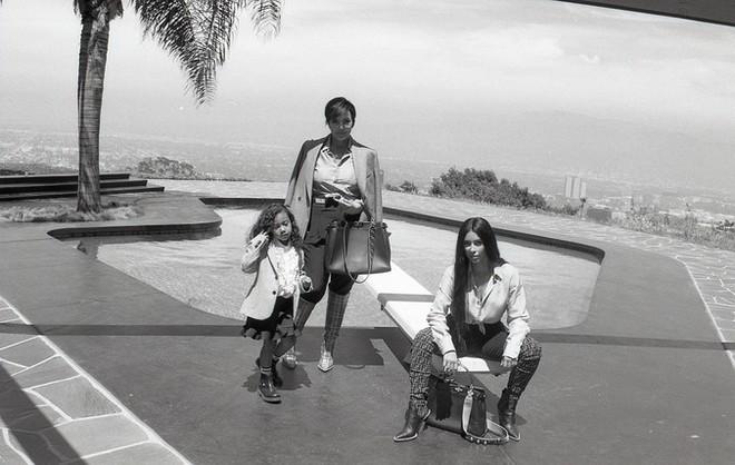 Крис, Ким и Норт Кардашьян снялись в рекламе Fendi - Радио Romantika